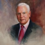Oil portrait of Dr. Roseman